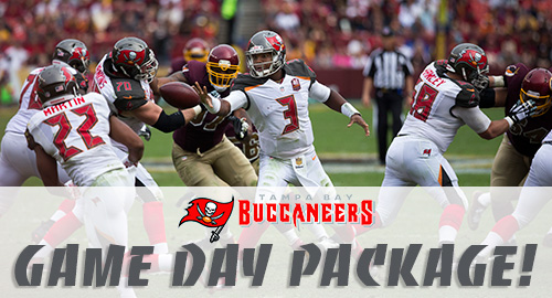 Tampa Bay Buccaneers Game Day Package