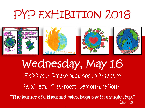 PYP Exhibition 2018